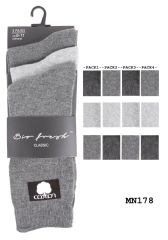 Mens plain causal wear socks